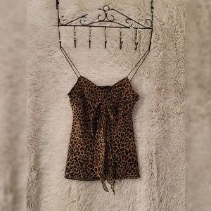 Express Design Studio camisole xs 100% silk A49